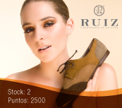 Calzado Ruiz, Te regala Zapatos Oxfords